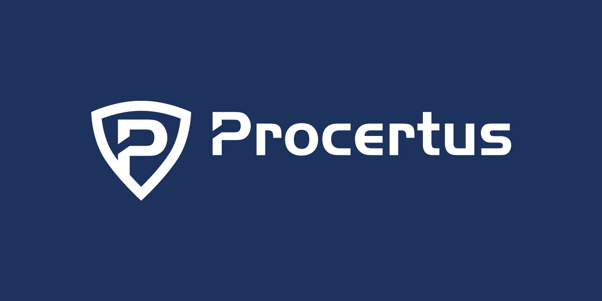 Timo Boyken: PROCERTUS - Corporate Identity - Logo Design - Security & Facility Management